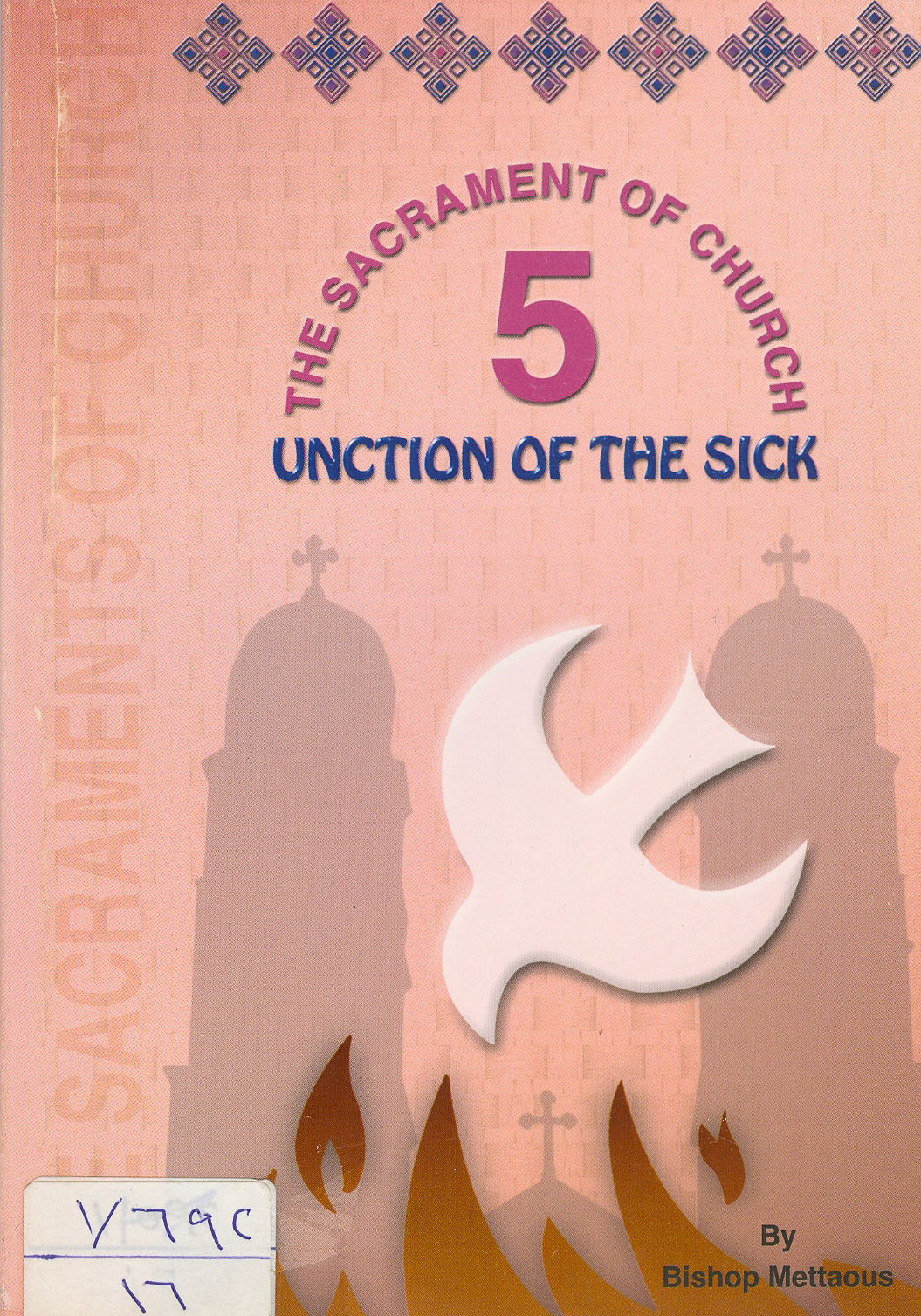 Cover of SACRAMENT UNCTION OF THE SICK